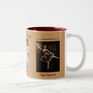 Ballets Russes Trio of Dancers Two-Tone Coffee Mug