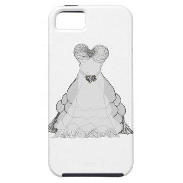 fabricatedframes Ballgown dress iphone case