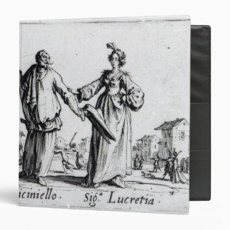 Balli de Sfessania, c.1622 2 3 Ring Binder