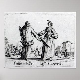 Balli de Sfessania, c.1622 2 Póster
