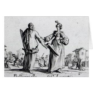 Balli de Sfessania c 1622 2 Tarjetas