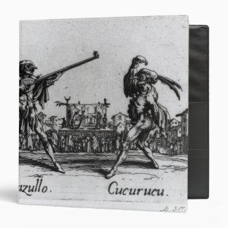 Balli de Sfessania, c.1622 3 Ring Binder