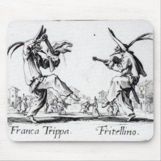Balli de Sfessania, c.1622 Alfombrillas De Ratones