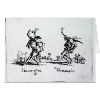 Balli de Sfessania c 1622 Felicitación