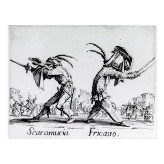 Balli de Sfessania, c.1622 Postal