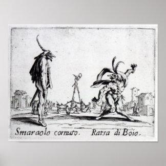 Balli de Sfessania, c.1622 Poster