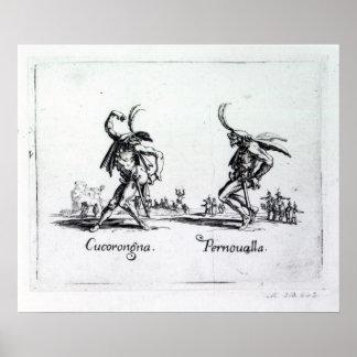 Balli de Sfessania, c.1622 Póster