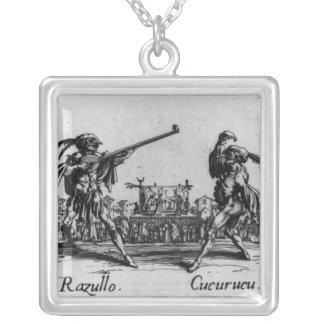 Balli de Sfessania, c.1622 Silver Plated Necklace