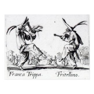 Balli de Sfessania c 1622 Tarjetas Postales