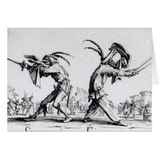 Balli de Sfessania c 1622 Tarjetón