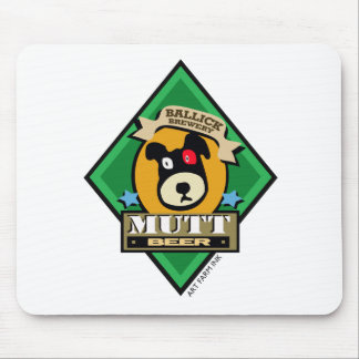 Ballick Mutt Beer Mouse Pad