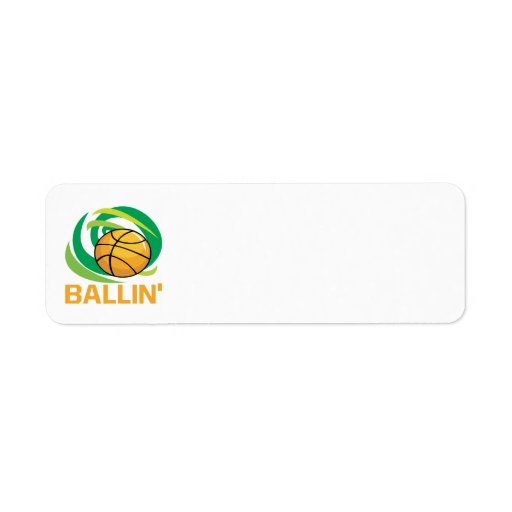Ballin Custom Return Address Label