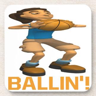 Ballin Drink Coaster