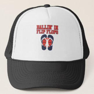 Ballin' In Flip Flops Trucker Hat