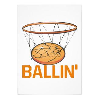 Ballin Invitación Personalizada