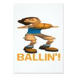 Ballin Invitación 12,7 X 17,8 Cm