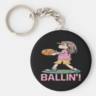 Ballin Keychain