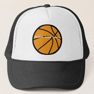 Ballin Like Larry Trucker Hat