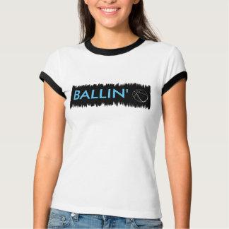 Ballin Women's Bella Ringer T-Shirt