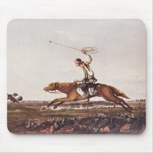 Balling Ostriches Mouse Pad