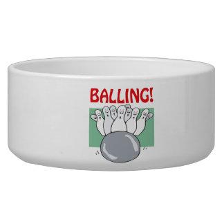 Balling Dog Bowl