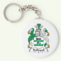 Ballingall Family Crest Keychain