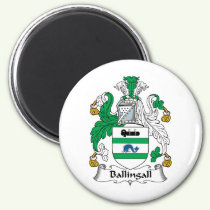 Ballingall Family Crest Magnet