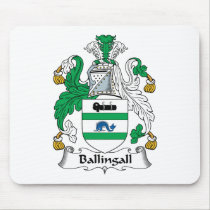 Ballingall Family Crest Mousepad