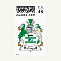 Ballingall Family Crest Stamps