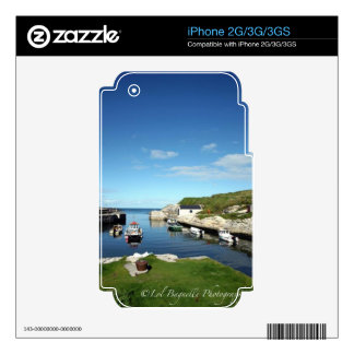 Ballintoy souvenirs skin for the iPhone 3G
