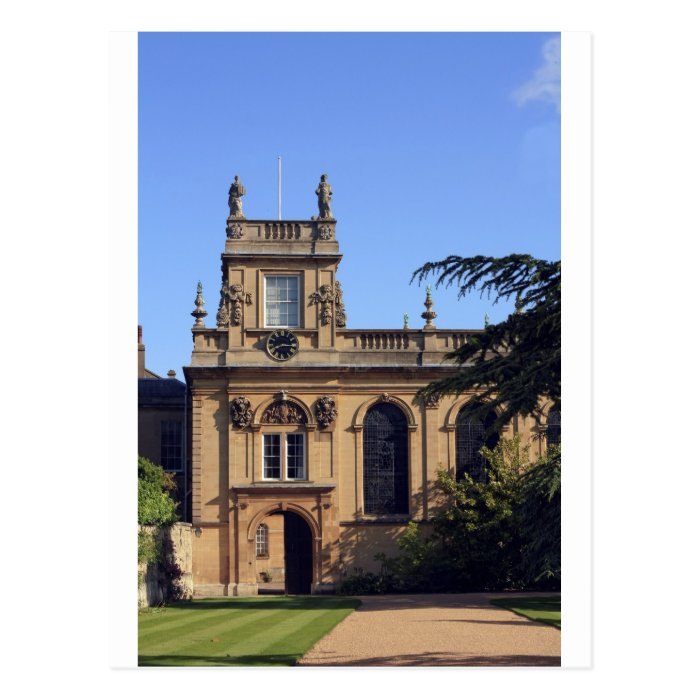 Balliol College Oxford Postcard