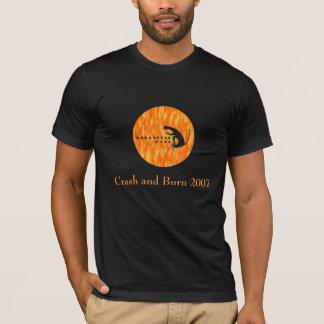 Ballistic Cats, Crash and Burn 2007 T-Shirt