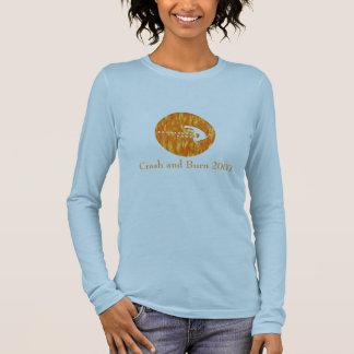 Ballistic Cats (Drummer) Crash and Burn 2007 Long Sleeve T-Shirt