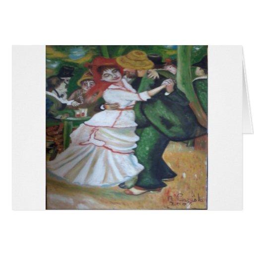 ballo de IL Tarjeta De Felicitación