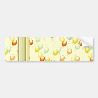 Ballon Bumper Sticker