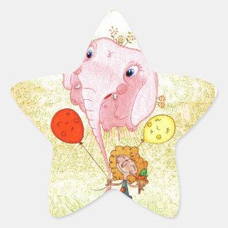 Ballon Calcomania Forma De Estrella Personalizadas