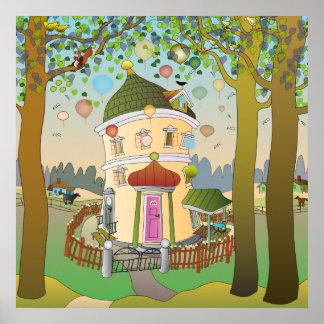 Ballonghuset Poster