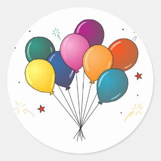 Ballons sticker
