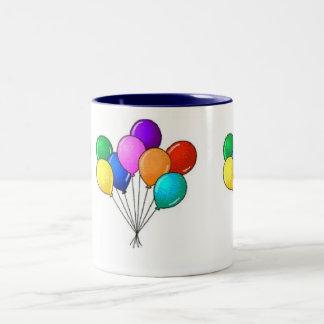 Ballons Two-Tone Coffee Mug
