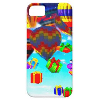 Ballonso de aire caliente colorido iPhone 5 carcasa