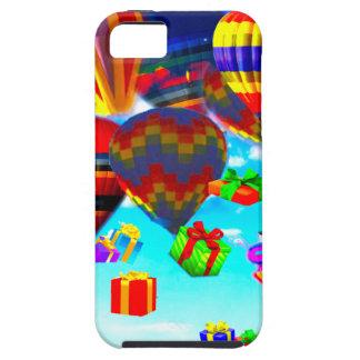 Ballonso de aire caliente colorido iPhone 5 carcasas
