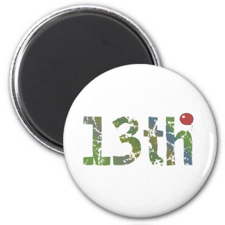 Balloon 13th Birthday Gifts Magnet