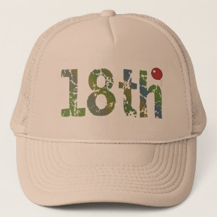 Balloon 18th Birthday Gifts Trucker Hat