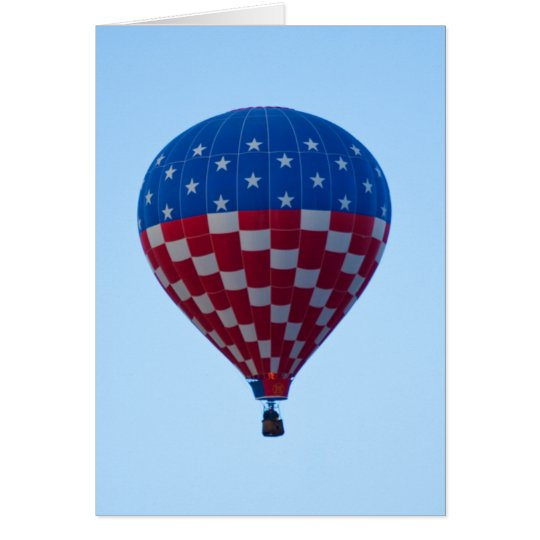 Balloon 6822 Stars and Stripes Card