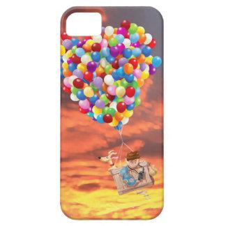 Balloon Adventure Boy and Dog Phone Case