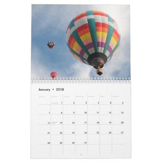 Balloon all year round calendar