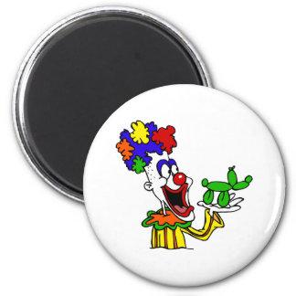 Balloon Animal Clown Magnet
