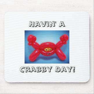 Balloon Animal Crab Mouse Pad