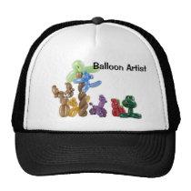 balloon animal group, Balloon Artist Mesh Hat