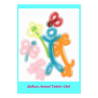 Balloon Animal Twister Profile Card
